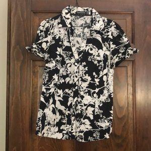 Express Deism Studio Button Down Shirt Size L